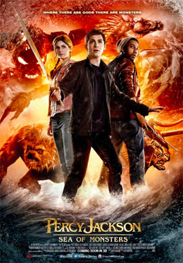 Percy Jakson 2: La mer des monstres, le film de 2013