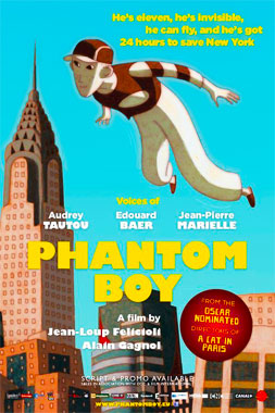 Phantom Boy, le film animé de 2015