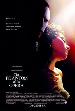 Le fantôme de l'Opéra, le film musical de 2004