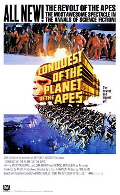 La conquête de la planète des singes, le film de 1972