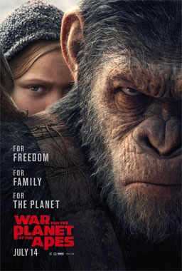 War For The Planet Of The Apes, le film de 2017
