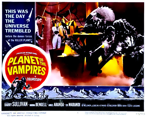 La planète des vampires, le film de 1965