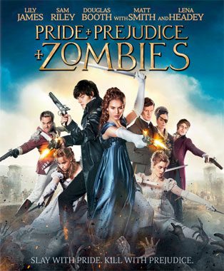 Orgueil et préjugés et zombies (2016), le blu-ray américain de 2016