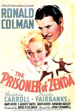 Le prisonnier de Zenda, le film de 1937