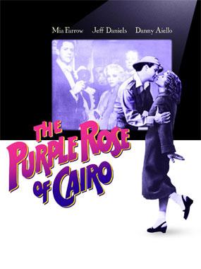 La Rose Pourpre du Caire, le film de 1985