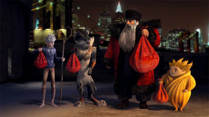 Les cinq légendes, le dessin animé de 2012