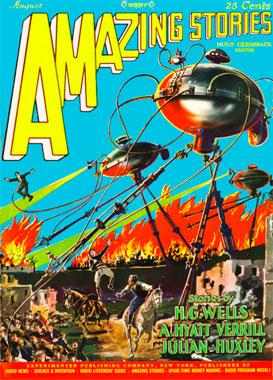 Amazing Stories, le numéro d'août 1927