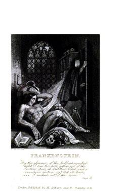 Frankenstein ou le Prométhée Moderne, le roman de 1818