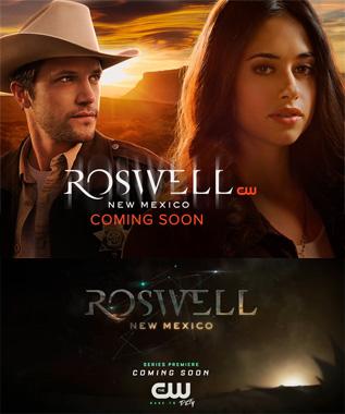 Roswell, New Mexico - la série télévisée de 2019