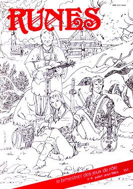 Runes, le numéro 4 de juillet-août 1983