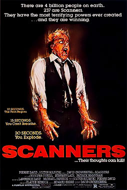 Scanners, le film de 1981