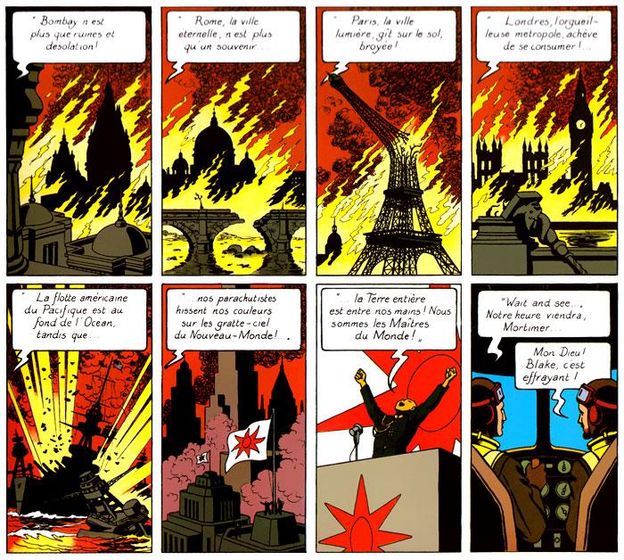Blake et Mortimer E01: Le secret de l'Espadon (1946)