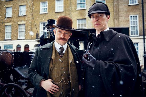 Sherlock, la série de 2010