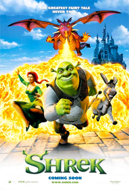 Shrek, le film animé de 2001