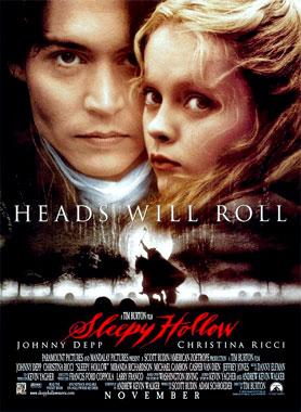 Sleepy Hollow, la légende du cavalier sans tête, le film de 1999
