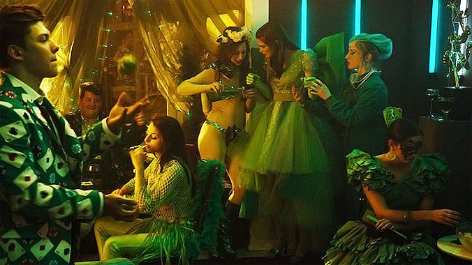 Vert émeraude, le film de 2016