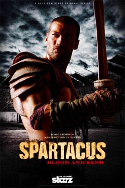 Spartacus, la série télévisée de 2010