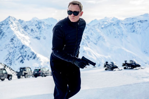 James Bond: Spectre, le film de 2015