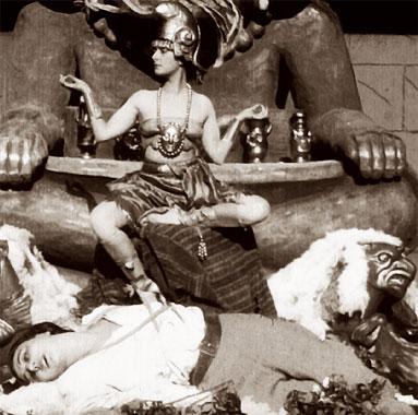 Les Araignées 1: Le lac d'or, le film de 1919