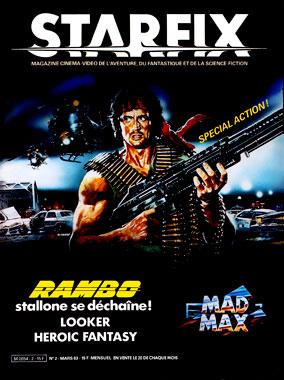 Starfix, le numéro 2 de mars 1983