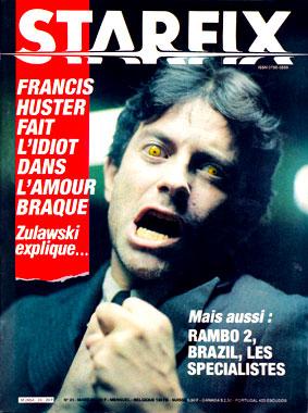 Starfix, le numéro 24 de mars 1985