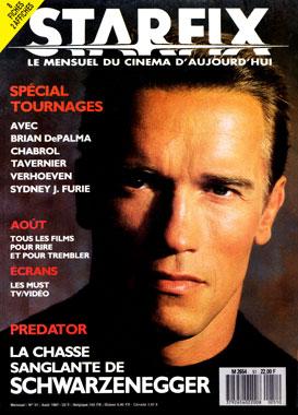 Starfix, le numéro 51 de août 1987