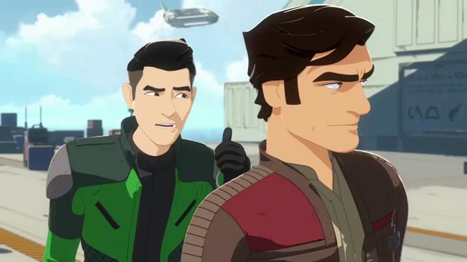 Star Wars: Résistance, la série animée de 2018