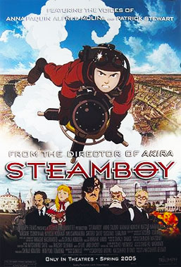 Steamboy, le film animé de 2004