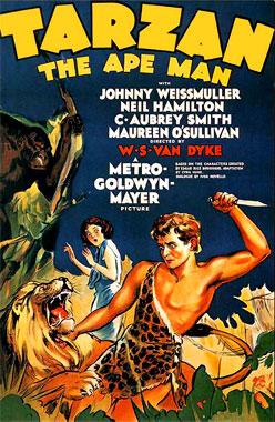 Tarzan, l'homme-singe, le film de 1932