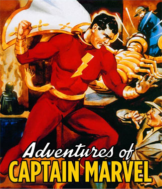 Captain Marvel (1941), le blu-ray américain de 2017