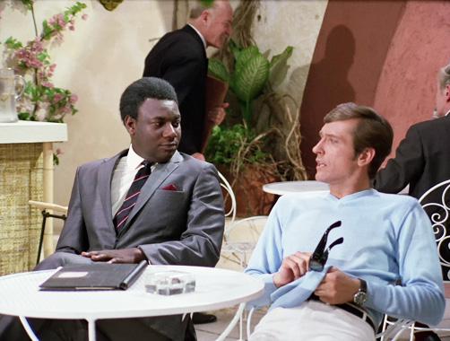 Département S S01E03: Quatre hommes déguisés (1969)
