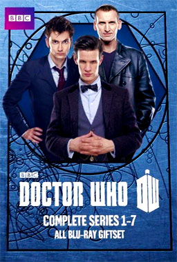 Doctor Who (2005) poster saison 1 à 7