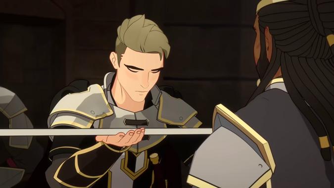 The Dragon Prince, la série animée de 2018