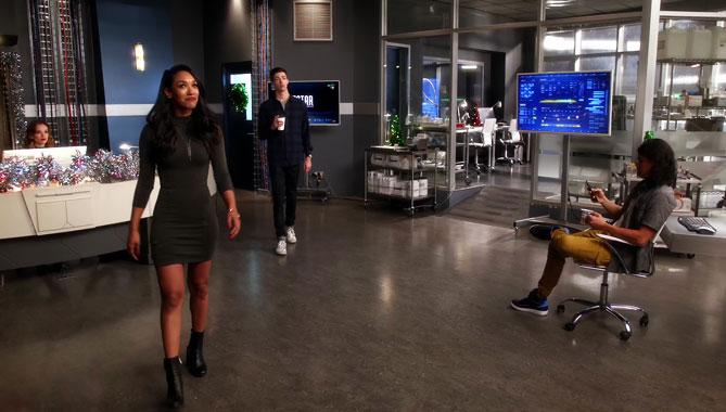 The Flash S03E09: Le présent (2016)