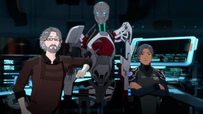 Gen:Lock, la série animée de 2019