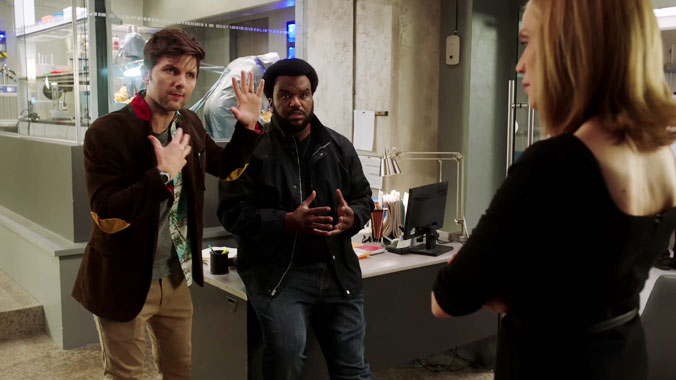 Ghosted S01E01: Chapitre premier (2017)