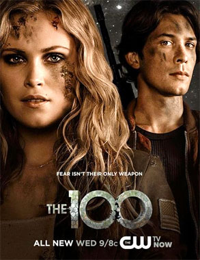 The 100 / The Hundred saison 1 poster