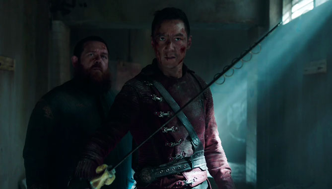 Into The Badlands S02E10: Le souffle du Loup, le feu du Dragon (2017)