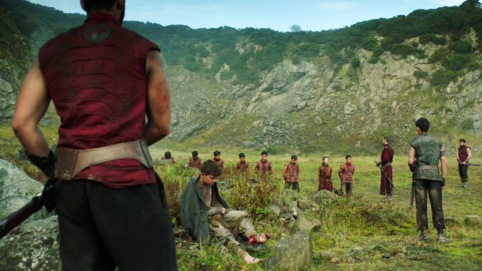 Into The Badlands S03E04: Assassins Aveugles Cannibals (2018)