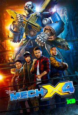 Mech-X4, la série télévisée de 2016