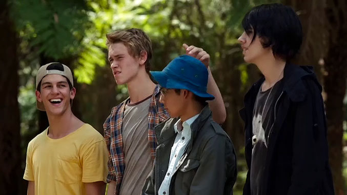 Nowhere Boys S01E01: Chapitre premier (2013)