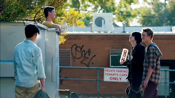 Nowhere Boys: Entre deux mondes S01E03: Vies nouvelles (2013)