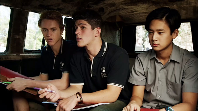 Nowhere Boys: Entre deux mondes S01E07: Possession (2013)