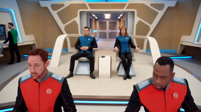 The Orville S01E01: Vieilles blessures (2017)
