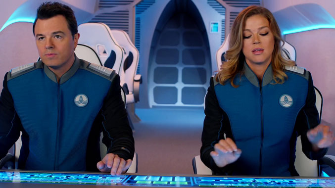 The Orville S01E02: Aptitude au commandement (2017)