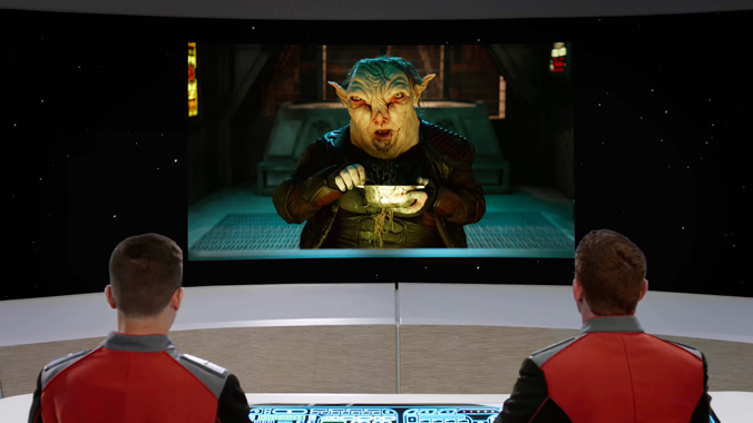 The Orville S01E11: Nouvelles dimensions (2017)