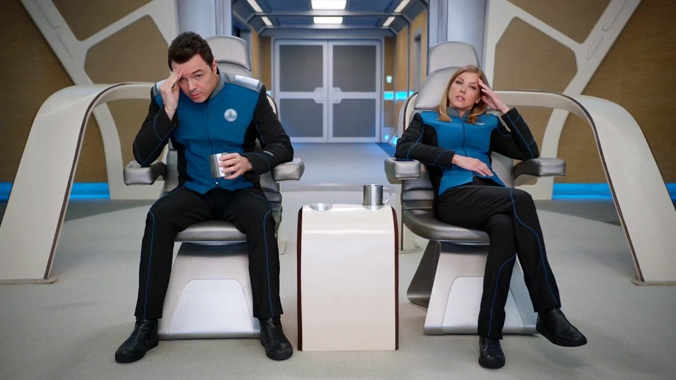 The Orville S01E12: Idolatrie folle (2017)