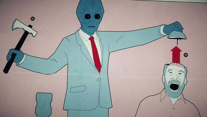 Resident Alien, la série télévisée de 2021