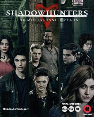 Shadowhunters, la saison 3B de 2019 de la série télévisée de 2016