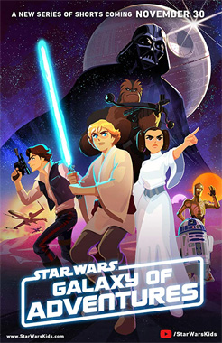 Star Wars: Galaxy of adventures, la série animée de 2018